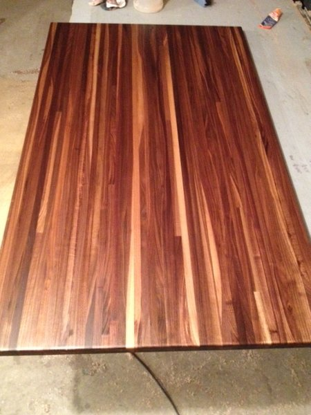 2b Walnut Butcher Block Top 1 2 X 30 36