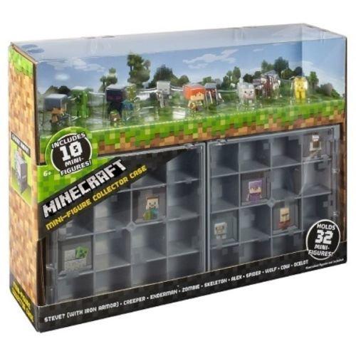 Minecraft Mini Collector Case + FREE 10 Collectors Mini ...