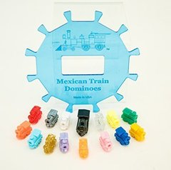 Mexican Train Dominoes Center Piece Hub & Accessories-12 Players