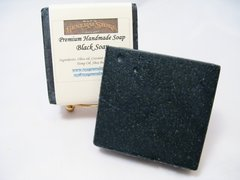 Premium Handmade African Style Black Soap - Free Shipping