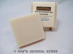 Premium Handmade Soap Unscented Pure Soap - Free Shipping