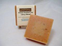 Cherry Almond Premium Handmade Artisan Soap - Free Shipping