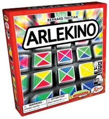 Arlekino Strategy Game by Bob Tavitian Fun/Fast Family Game