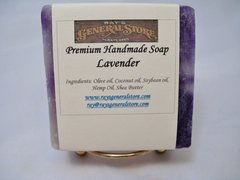 Lavender Premium Handmade Artisan Soap - Free Shipping