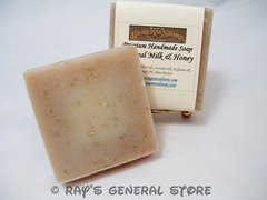 Oatmeal Milk & Honey Premium Handmade Soap - Free Shipping