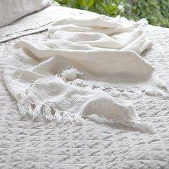 Montauk Throw Blanket - White