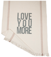 """Throw Blanket - """"Love You More"""""""