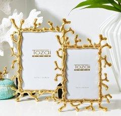 Golden Coral Frames (Set of 2)