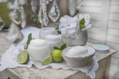Ocean Gardenia Scented Candle