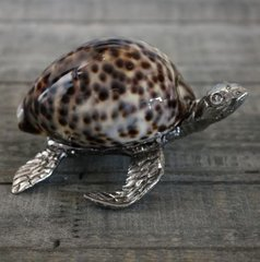 Pewter Turtle with Shell