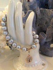 Freshwater Pearl Charm Bracelet