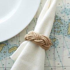 Roped In Rope Napkin Ring - Jute