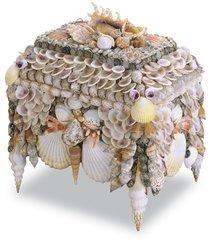 Decorative Shell Jewelry Box