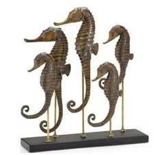 Seahorse Family Sculpture