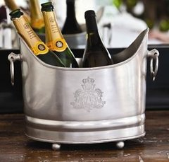 Chateau Silver Plated Champagne Bucket