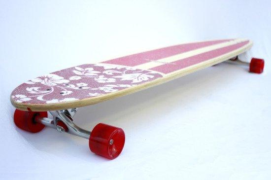Da Glide Longboard Larry Skateboard Complete Sup