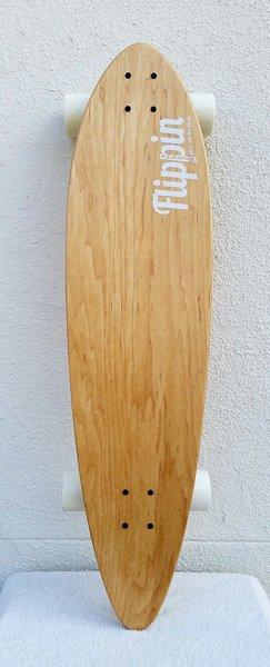 Flippin Board Co Plain Bird Classic Pintail Longboard Skateboard