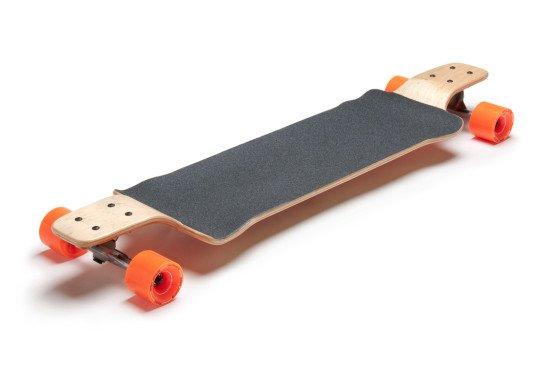 Pusher 2.0 Longboard Larry Complete Skateboard Drop Deck