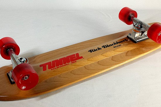 Tunnel Blackhart Longboard Larry Skateboard Complete Cruiser and Carving