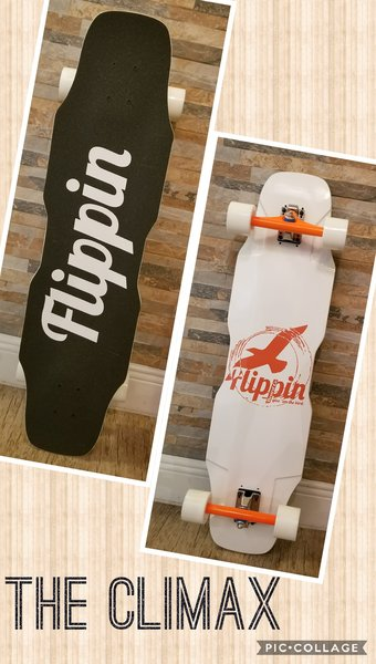 Flippin Board Co Climax Downhill Freeride Longboard Skateboard