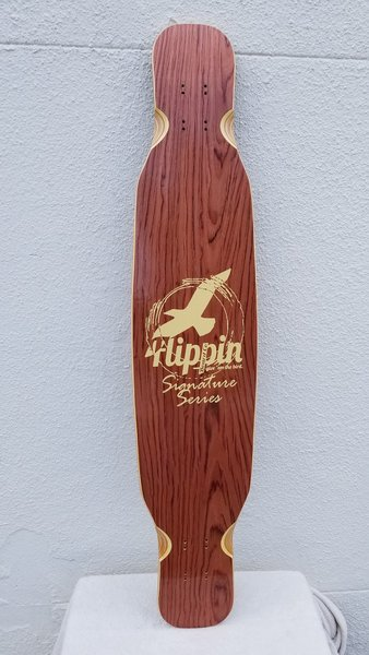 Flippin Board Co Signature Series Dancer Dancing Longboard Deck Only