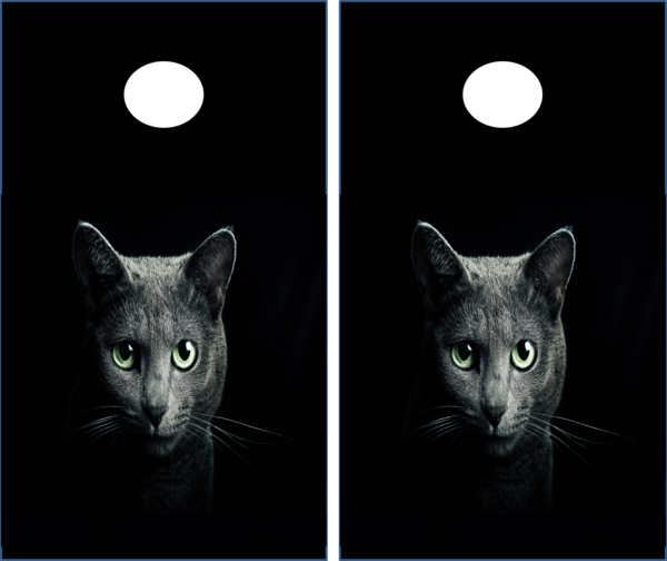 Cat Cornhole Set The Cornhole Xpress Custom Cornhole