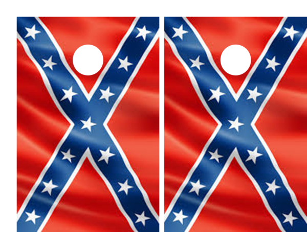 Confederate Flag Cornhole Set The Cornhole Xpress Custom