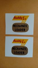 BL5693D Mech-a-matic Loader Decal Buddy L Page 91