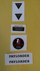 Nylint Hough Payloader Decals NYH Page 83