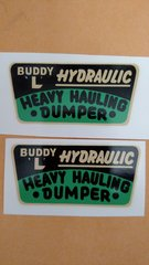Buddy L Decals BLD2 Page 92
