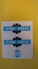 HU495J Hubley Flying Circus Decals