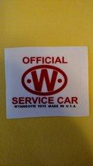 WYDE03A Official service car emblems