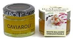 "Caviaroli Arbequina Olive Oil and ReModena White Balsamic Pearls ""Special"""