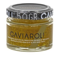 Caviaroli Olive Oil Caviar with White Truffles (50 Grams)