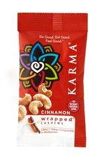 "Karma Cashews Cinnamon ""Wrapped"" 1.5oz Snack Pack"