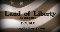 Land of Liberty Detergent-Double
