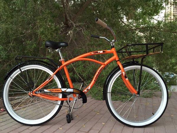 Raleigh City Cruiser Bike Cargo 120 Rial Muscat Bike Shop