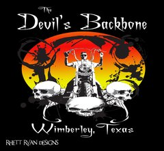 Devil's Backbone T-shirt Sm-Xl