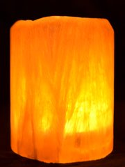 Honeycomb Calcite Luminary 2x2-3""