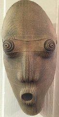 Long Raku Mask