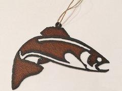 Rusty Fish Ornament