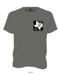 Ranch Road 12 T-shirt Smoke
