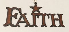Rusty Faith Ornament