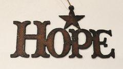 Rusty Hope Ornament