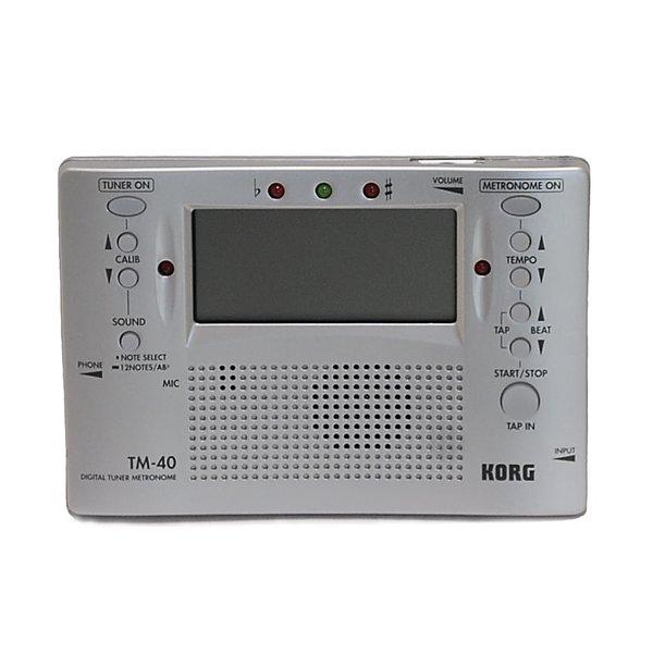 Korg Tm 40 : korg tuner metronome combo model tm 40 weinkrantz music ~ Russianpoet.info Haus und Dekorationen
