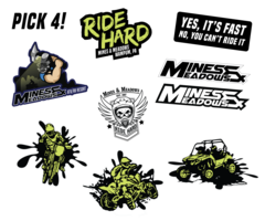 Mines & Meadows Sticker Pack-Pick 4
