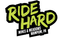 Ride Hard Text Only Sticker