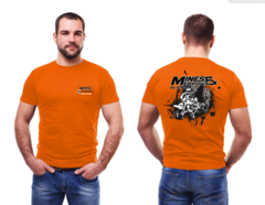 NEW! - M&M Quad Shirt - Orange