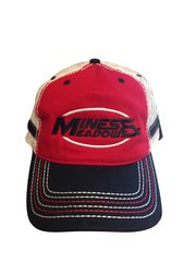 Mines and Meadows Adjustable Hat - Red
