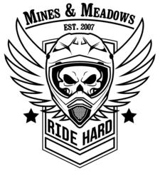 Ride Hard Skull Sticker